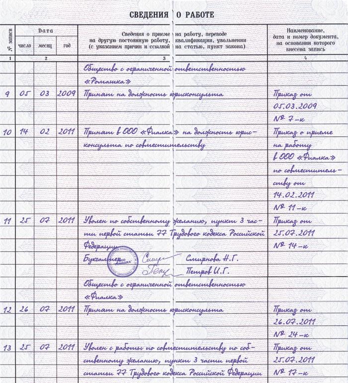 Медицинская книжка для работников по совместительству медицинская книжка по приказу 302