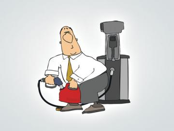Если водитель истратил неоправданно много топлива, вы можете удержать из его зарплаты стоимость перерасхода!