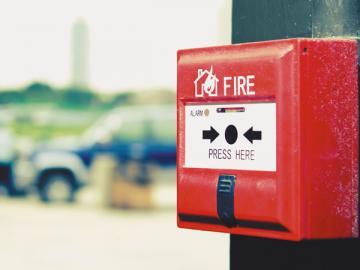 Одним из наиболее распространенных неотделимых улучшений является пожарная сигнализация